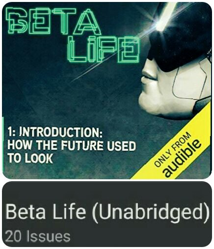 Book cover - Beta Life from Audible