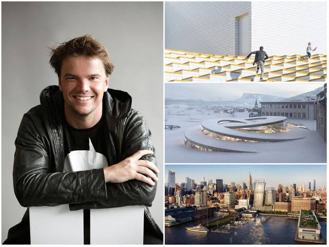 Architect Bjarke_Ingels and 3 related images of him and his work.